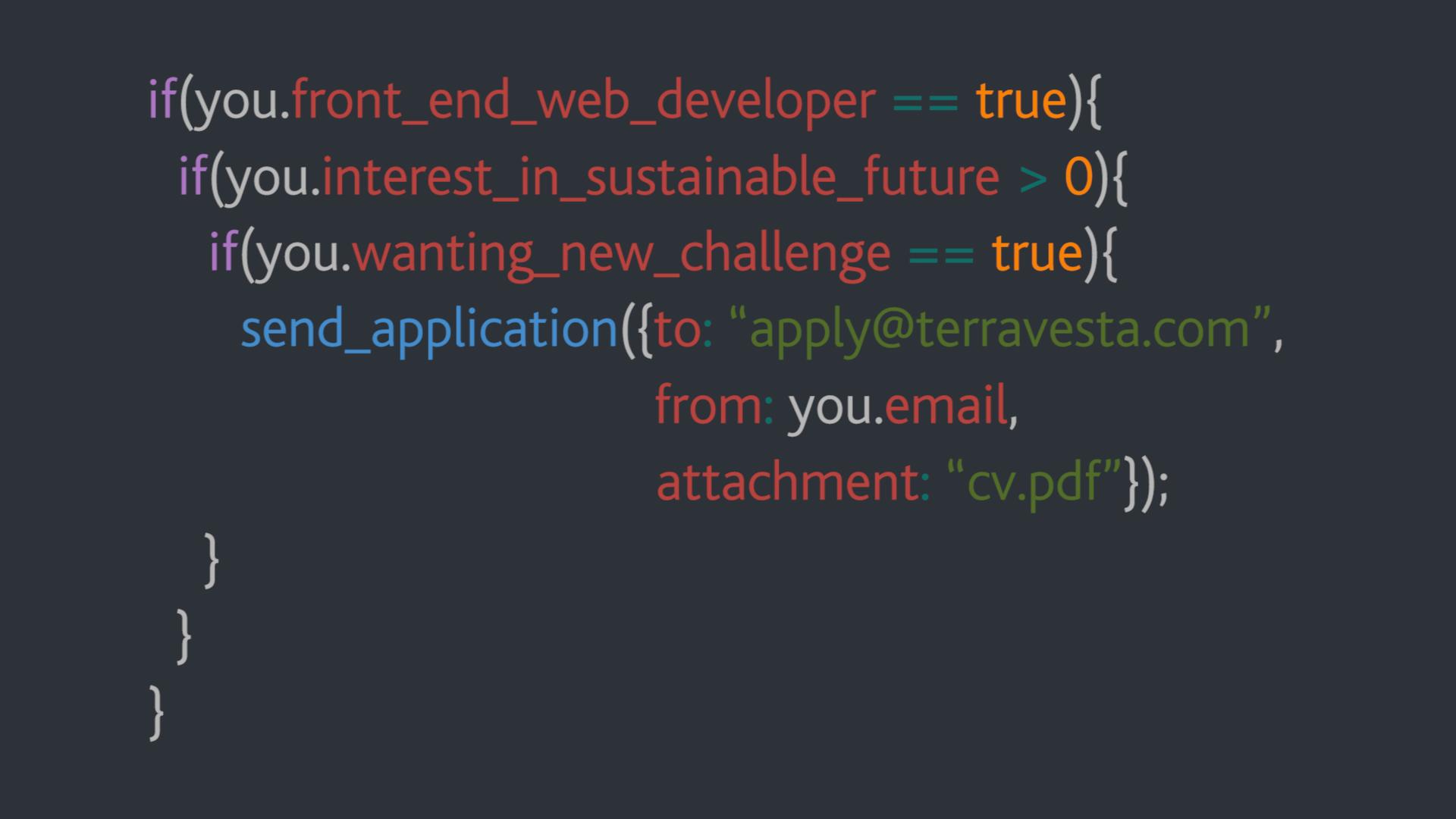 Coded Job description